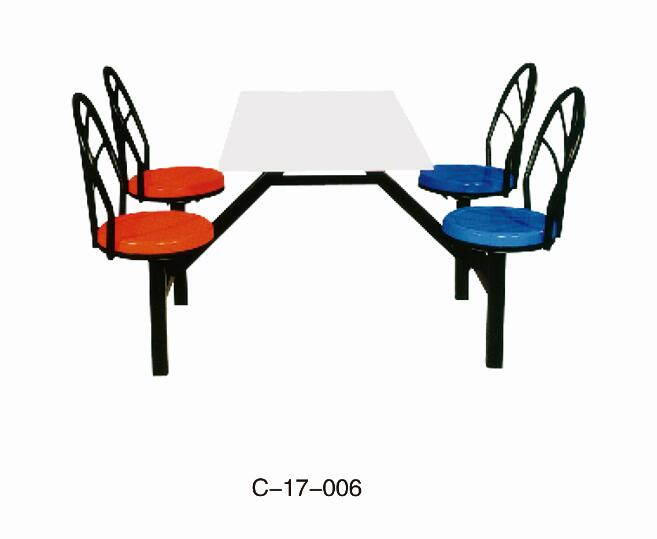 Canteen tables and chairs C-17-006